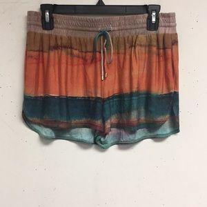 Haute Hippie Multicolor Shorts Size M